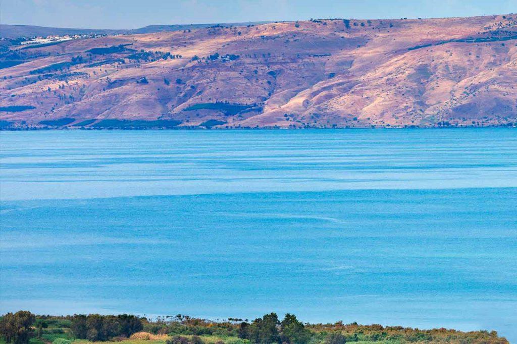Sea of Galilee Lake